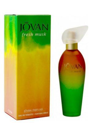 Fresh Musk Jovan женские