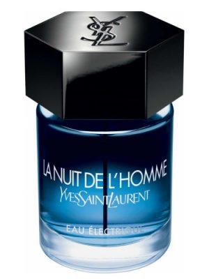 La Nuit de L'Homme Eau Electrique Yves Saint Laurent мужские
