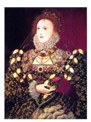 Queen Bess Ava Luxe женские