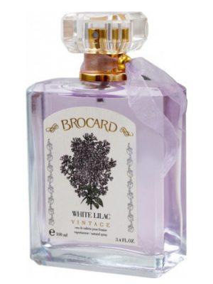 White Lilac Vintage Brocard женские